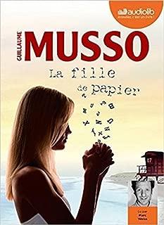 La Fille de papier: Book plus Livre audio 1 CD MP3 (French Edition)