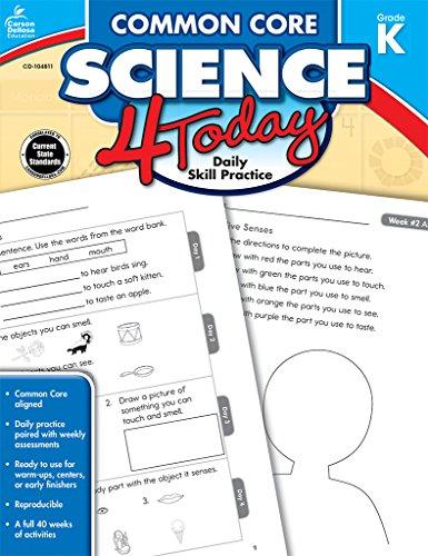 Common Core Science 4 Today Grade K Daily Skill Practice Common Core 4 Today