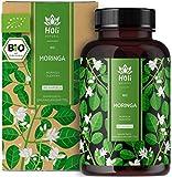 Holi Natural® BIO Moringa Kapseln   180 vegane Kapseln   1800mg je Tagesdosis   ECHTE Moringa...