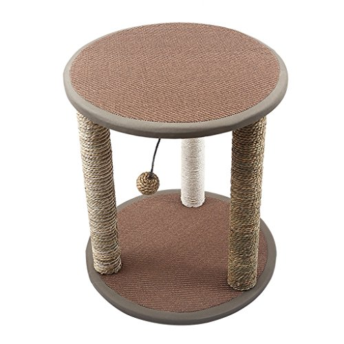 animal Chat Escalade Kader Sisal Chat Salle Chat Arbre Chat Jouet Chat Grattage Post Chat Creux Taille Chat Saut Plateforme (Farbe : 1)