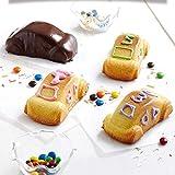 Silikon-Form für Kuchenherstellung, Antihaft-Eigenschaft, Cartoon-Motiv, für Kuchen und Brot, für Pudding, Gebäck, Seife, Muffin Farbe Aleatorio # 1
