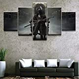 5 Canvas Prints Home Decor Canvas Picture 5 Piece by Game