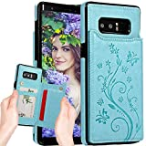 Galaxy Note 8 Wallet Case for Women,Note 8 Case with Card...