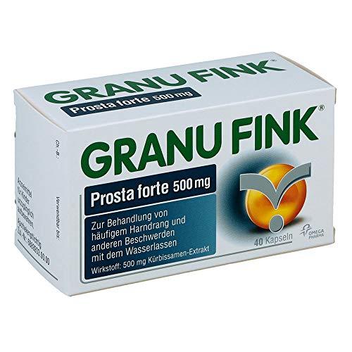 GRANU FINK Prosta forte 500 mg Kapseln, 40 St. Kapseln