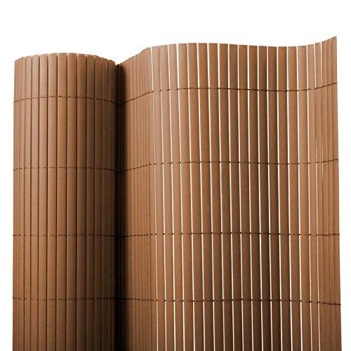 casa pura Brise Vue en Marron | Brise-Vent pour l'usage extérieur | Tailles diverses - matière Robuste | 200x300cm