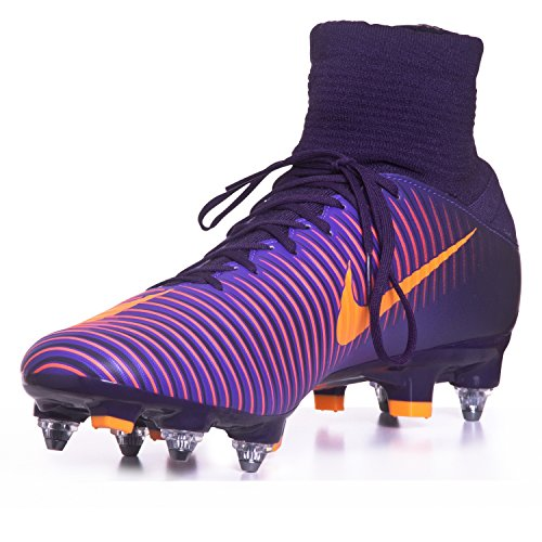 Nike 831962-585, Scarpe da Calcio Uomo, Viola Purple Dynasty Bright Citrus Hyper Grape, 40 EU