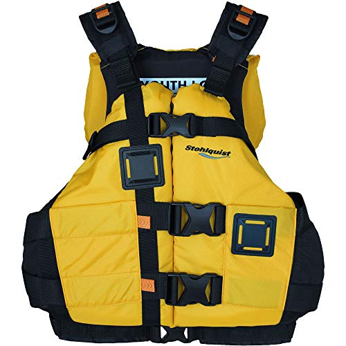 Stohlquist Canyon PFD Youth/Adult Vest, One Size, Mango