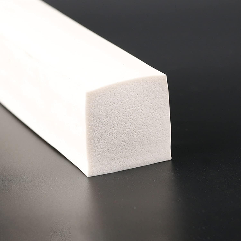 AMIMI Foaming Rubber Seal Strip Award-winning store Roll F White Shape Sponge Free Shipping New Square