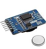 AZDelivery Reloj en Tiempo Real Modulo RTC DS3231 y bateria incluida I2C Compatible con Arduino y Raspberry Pi con E-Book Incluido!