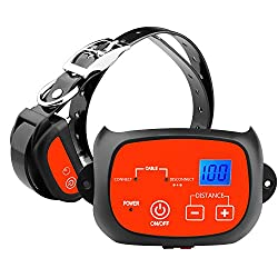 Electric Dog Fence with Rechargeable & Waterproof Collar
