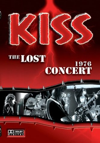 Kiss The Lost Inexpensive Concert 1976 Fashionable