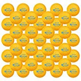 KEVENZ 60-Pack 3-Star 40+ Orange Table Tennis Balls,Advanced Ping Pong...