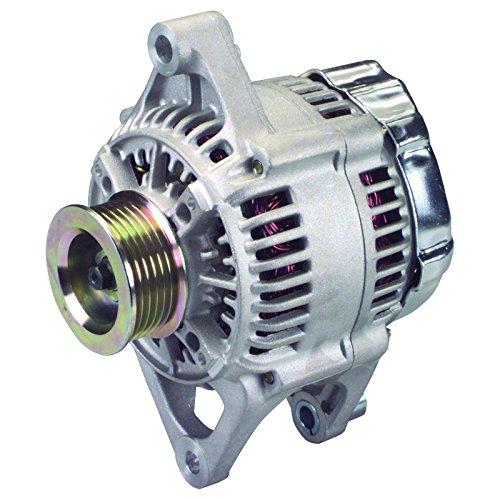 Premier Gear PG-13822 Alternator Compatible with Replacement for Dodge Dakota Pickup 2.5L 1999 2000, Jeep 2.5L 4.0L 1999 2000 Cherokee TJ Series Wrangler 113357 113358 56005684AB 56005685AC