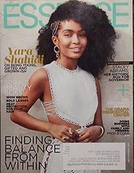Essence Magazine  April 2018  Yara Shahidi Cover