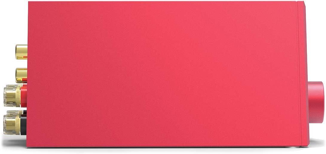 Num/érique Haute puissance audiophile Rouge LOXJIE Amplificateur de puissance st/ér/éo A10 Classe D Puce TPA3116