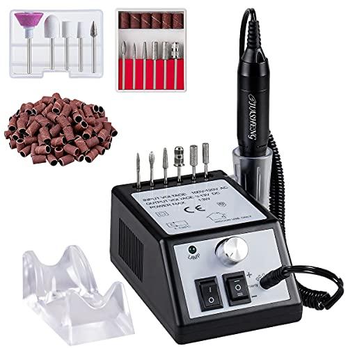 Jiasheng Professional Nail Drill, 20000rpm Electric Nail Drill Machine, Electronic Nail File Drills...
