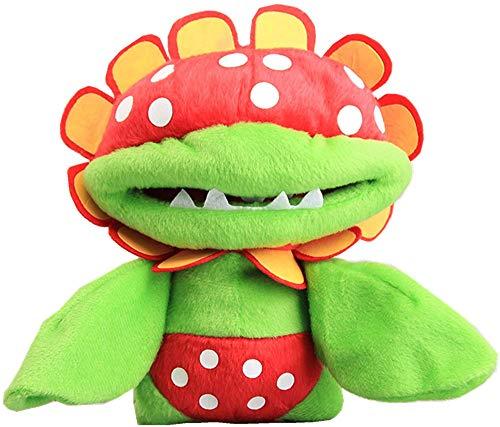 Moovi Super Mario Bros. Petey Piranha Plush Toy 7'' Stuffed Animal