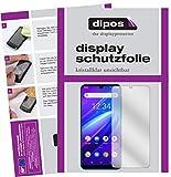 dipos I 6X Schutzfolie klar kompatibel mit Beafon M6 Folie Bildschirmschutzfolie (bewusst Kleiner als das Glas, da Dieses gewölbt ist)