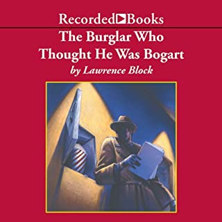 The Burglar Who Thought He Was Bogart audiobook cover art