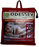 Odessey Products Wool 500 TC Electric Blanket (Single_Multicolour)