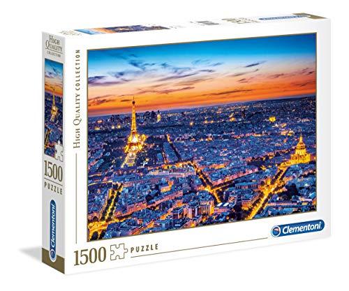 Clementoni- Puzzle 1500 Piezas Vista de Paris (31815.5)