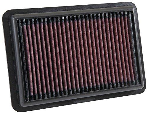 33-5050 K&N High Flow Luftfilter kompatibel mit Hyundai Elantra & i30 III 1.0/1.4/1.6 17