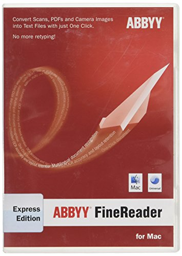 Preisvergleich Produktbild ABBYY FineReader Express Edition For Mac
