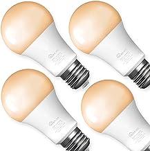 Smart Light Bulbs 4 Pack, Treatlife Tunable White Dimmable Smart Bulb 800 Lumen, Smart Home...