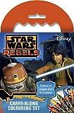 Star Wars - Set de Colorear para Llevar de Rebels (Anker ANKSWCAR)