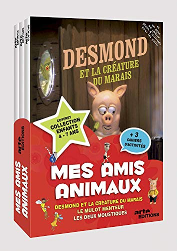 Mes amis animaux - Coffret [Francia] [DVD]