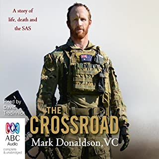 The Crossroad                   By:                                                                                                                                 Mark Donaldson                               Narrated by:                                                                                                                                 David Tredinnick                      Length: 13 hrs and 38 mins     872 ratings     Overall 4.8