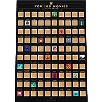 FILMS LES MIEUX ÉVALUÉS – notre affiche est remplie de films appréciés des fans et des critiques du monde entier – des classiques influentes aux superproductions modernes en passant par l'animation primée. 100 ICÔNES COLORÉES – il est si satisfaisant...
