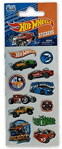 stickers - Hot Wheels Stickervel (1 TOYS)