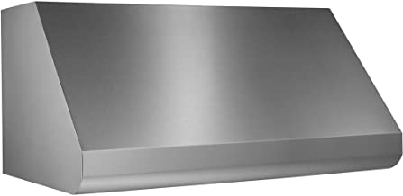 Broan Elite Series 48 in. Pro-Style Wall-Mount Range Hood Shell for External Blower - Stainless Steel