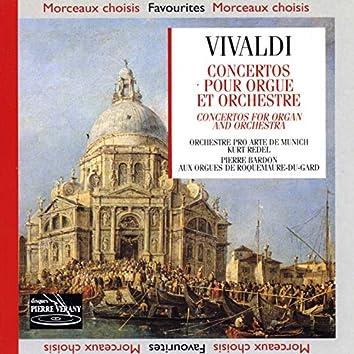Vivaldi : Concertos pour orgue & orchestre