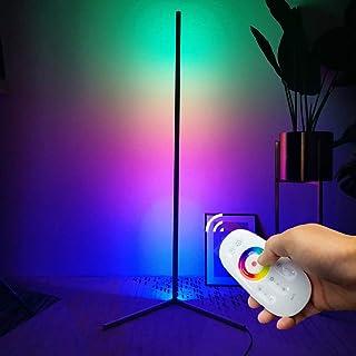 GDFGTH Lámpara de pie RGB Regulable Moderna LED Luces de pie Coloridas Estilo Minimalista con Mando a Distancia para salón, Dormitorio o Sala de Juegos Restaurante,I