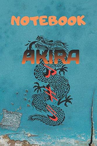 AKIRA: Akira Anime - 6x9, Blank Lined Journal For kids, ramen, anime,...
