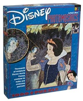 Disney Photomosaic Snow White and the Seven Dwarfs Jigsaw Puzzle