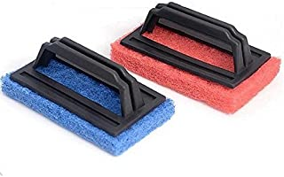 Bajrang Tile Cleaning Multipurpose Scrubber Brush with Handle (02 Pc.)