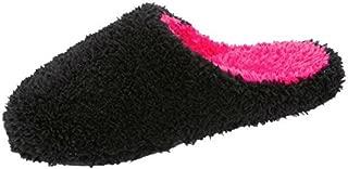 Dearfoams Women's Fluffy Clog Slipper