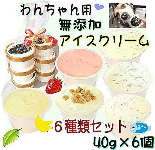 犬用 おやつ 無添加 ミニアイスクリーム6種類 セット Sサイズ 小型犬 超小型犬 わんちゃんの熱中症対策に あすつく デザート 果物 フルーツ 肉 魚 透明の袋に入れて、可愛く!リボンでラッピング! プレゼントしたら、間違いなく!大喜び!帝塚山