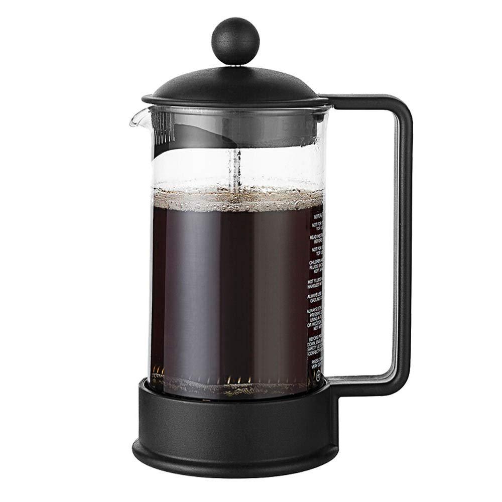 Wenzhihua Cafetera Prensa Francesa Filtro Cafetera Hecho a Mano de café francés de presión Olla de presión del Filtro Filtro de café Copa Appliance (Color : Negro, tamaño : 350ml): Amazon.es: Hogar