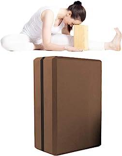 Flexibilidad y Equilibrio AW9 Bloque de Yoga dise/ño vibrante y atractivo Color doble 1 o 2 piezas - Espuma EVA antideslizante Bloque de Superficie para Yoga y Pilates para Mejorar la Fuerza