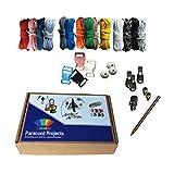 RainbowStone Paracord Armband DIY Projekt Kit - 24-TLG. Set A
