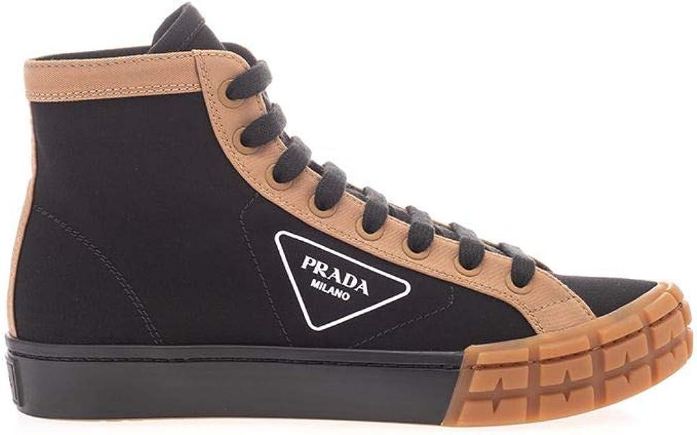 Prada luxury fashion sneakers da uomo, in cotone 100 % 2TG15889CF0U69