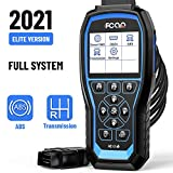 FCAR F507 Heavy Duty Truck Scanner, Full System Heavy Truck Scan Tool, Diagnostic Scanner for Almost All Trucks, 24V Diesel Truck Code Reader with OEM Level ABS&Transmission for Hino/Isuzu/Fuso/UD