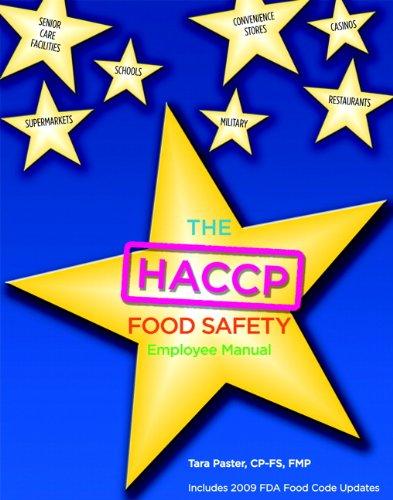 HACCP Food Safety Employee Manual