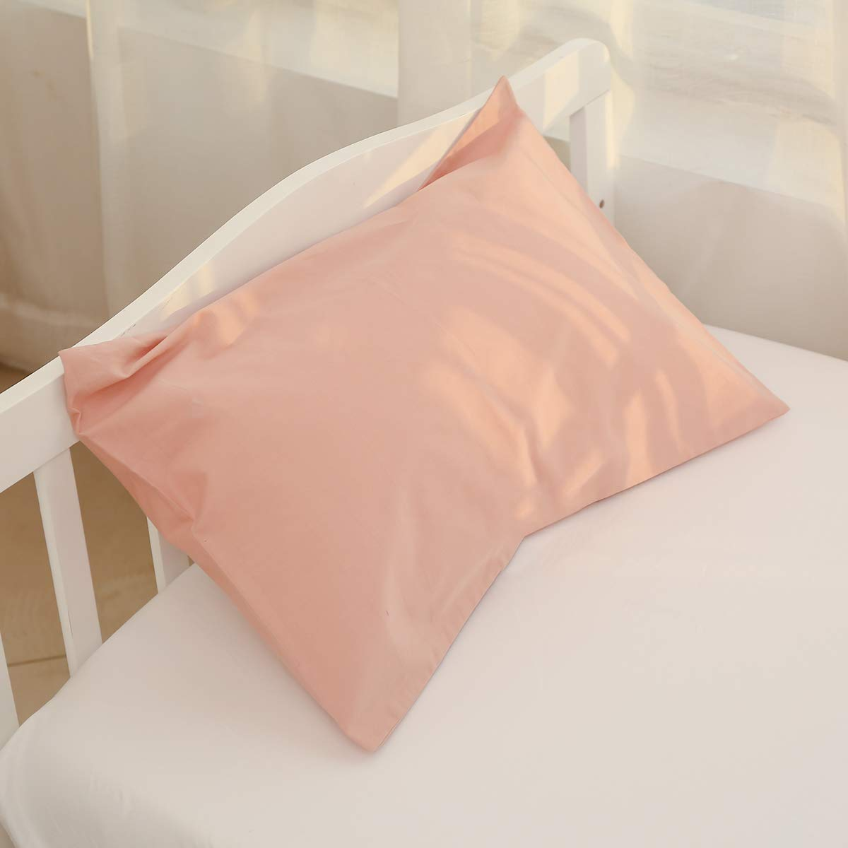 Kids Toddler Pillowcases100/% Natural Cotton Travel Pillowcase Cover with Envelope Closure 2 Pcs 14x20 or 13x 18 inch Baby Pillow Cases for Sleeping for Kids Solid Pillowcases Kids Pillowcases