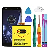 Motorola GV40 Battery, Euhan 3600mAh Replacement Battery for Motorola Moto Z Droid Force XT1650-2 +Repair Replacement Kit Tools [1 Year Warranty]