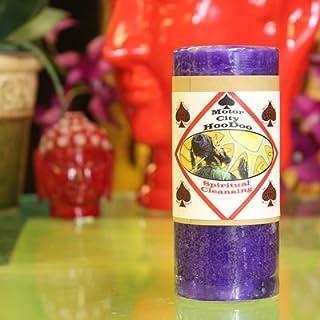 Motor City Hoo Doo Spiritual Cleansing Candle
